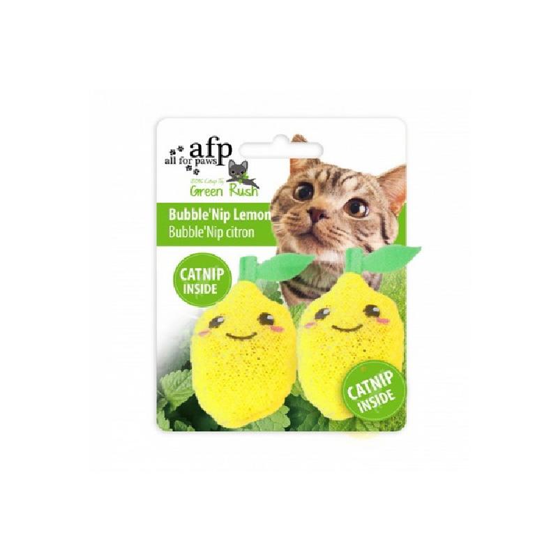 檸檬泡沫貓草貓玩具9x4x1.5cm