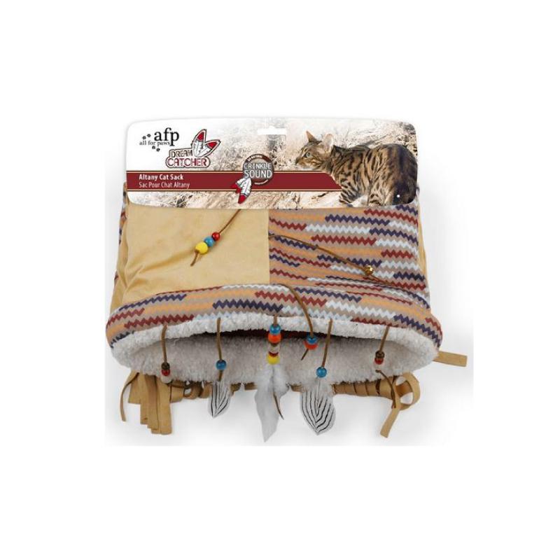 印第安玩具貓袋45x38x8cm