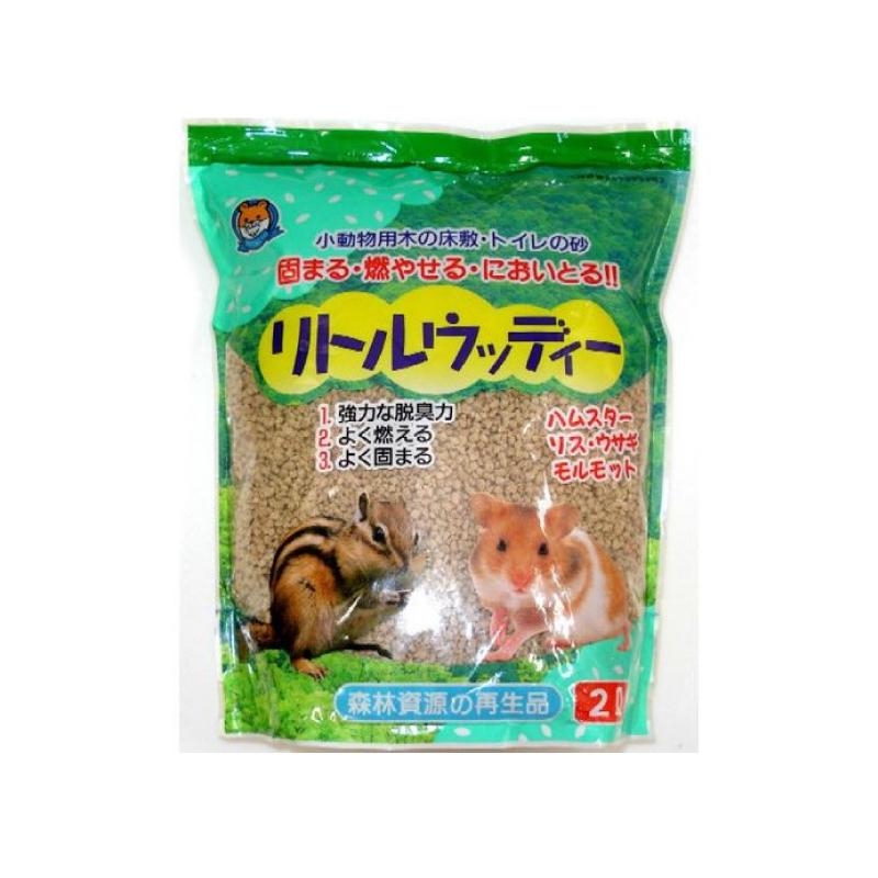 小動物結團除臭木砂 2L