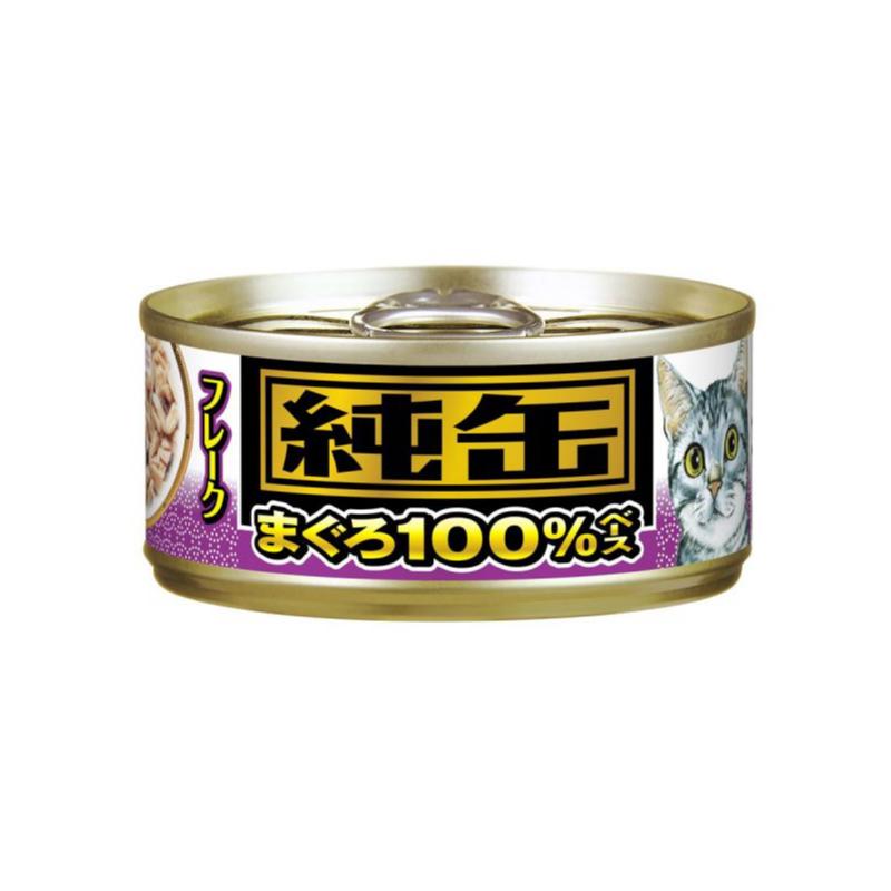 吞拿魚片貓罐頭(紫) 65G