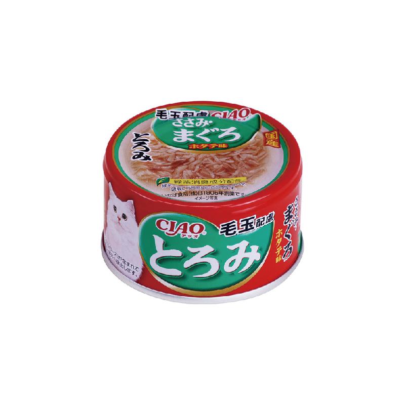 濃湯系-化毛球雞肉吞拿魚罐頭80g