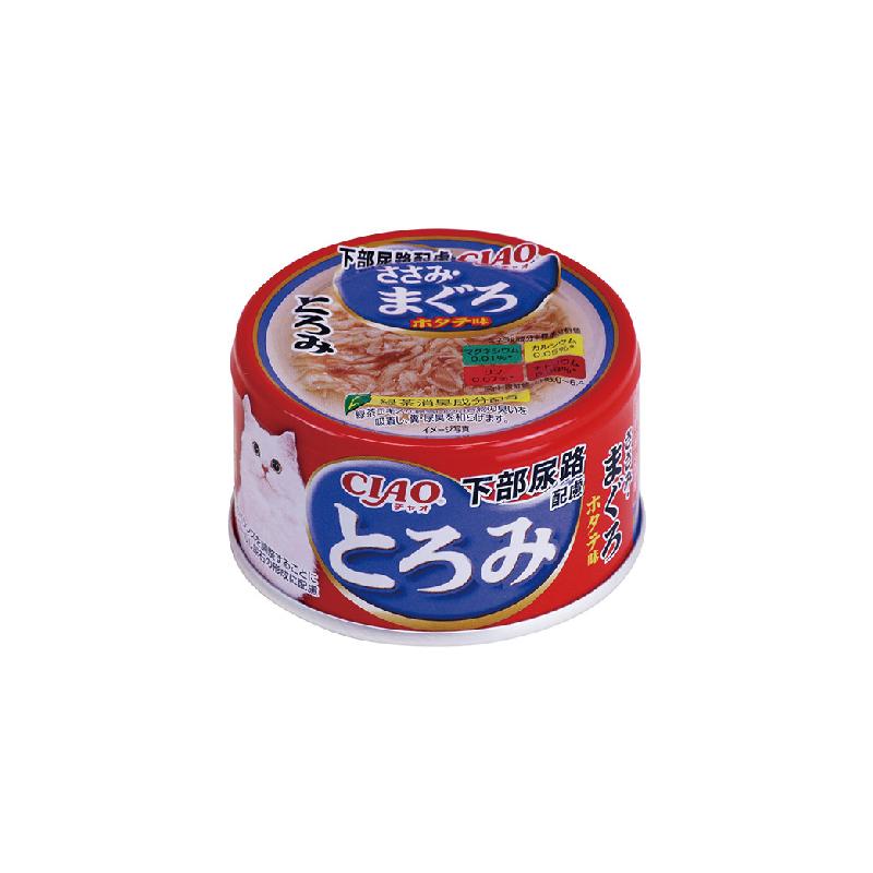 濃湯系-防尿石雞肉吞拿魚罐頭80g