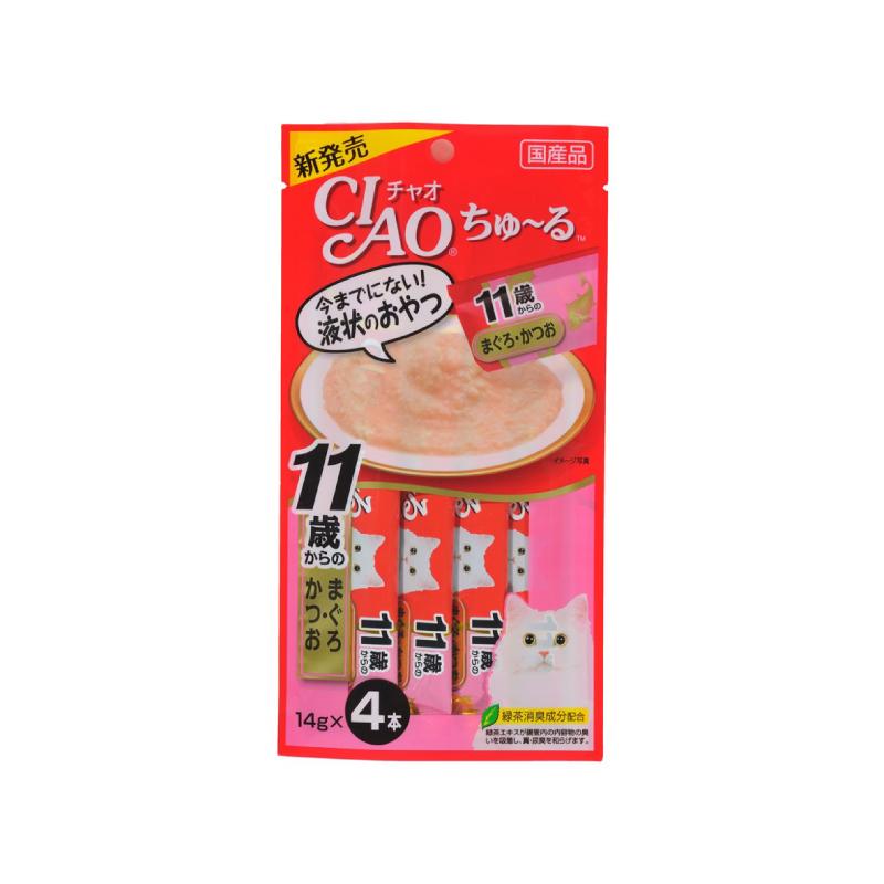 肉醬-吞拿魚鰹魚14gx4(高齡)