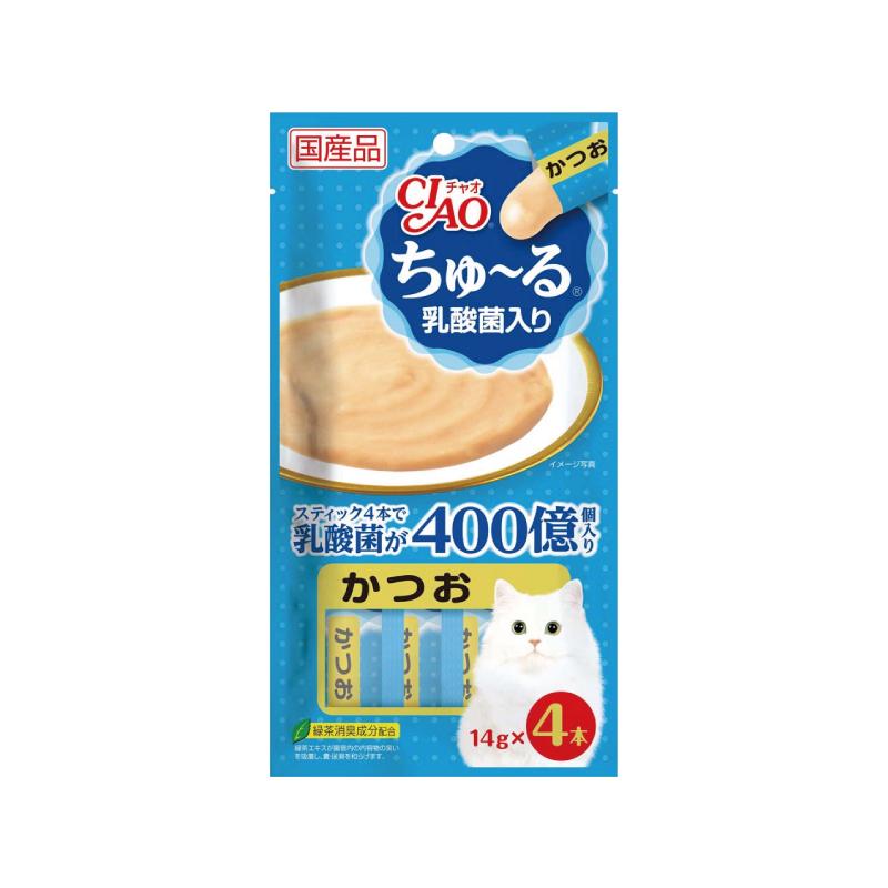 乳酸菌軟醬-鰹魚味 14gx4