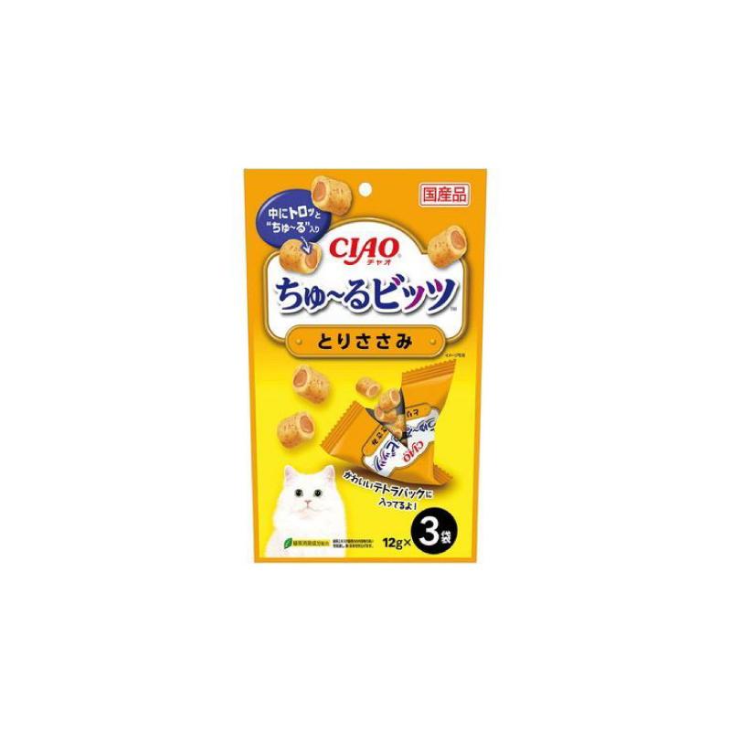 CS-174雞肉軟心粒貓小食12g×3
