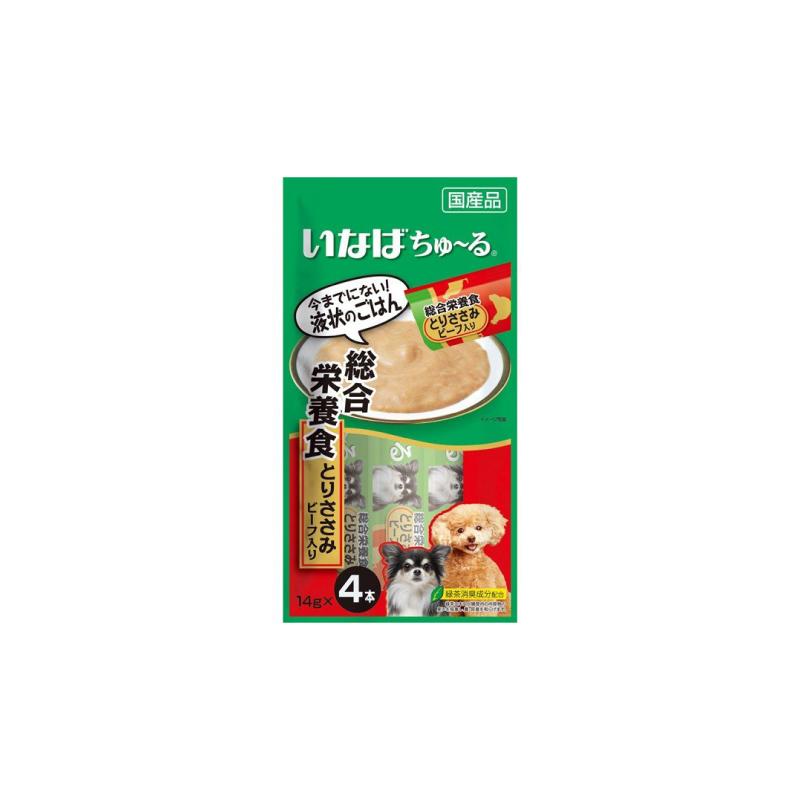 D-106綜合營養雞+牛肉醬包14gx4