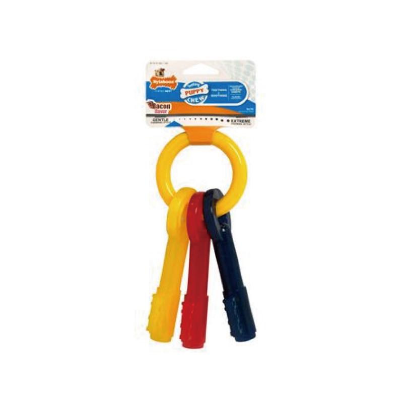 鑰匙型幼犬潔齒玩具L