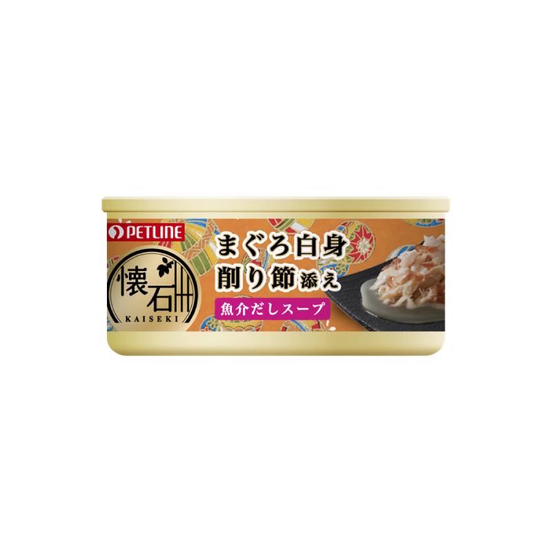 懷石鮮湯吞拿魚鰹魚罐頭60g