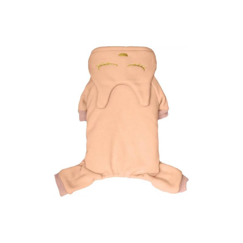 淡粉色加厚衛衣四腳裝L碼