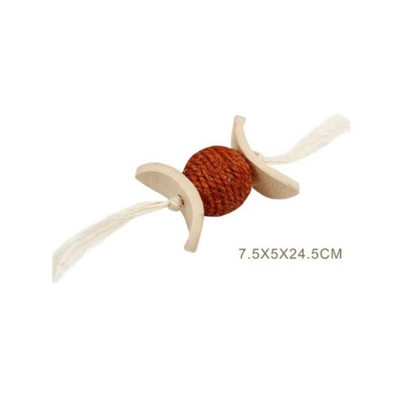 串燒貓玩具7.5x5x24.5cm