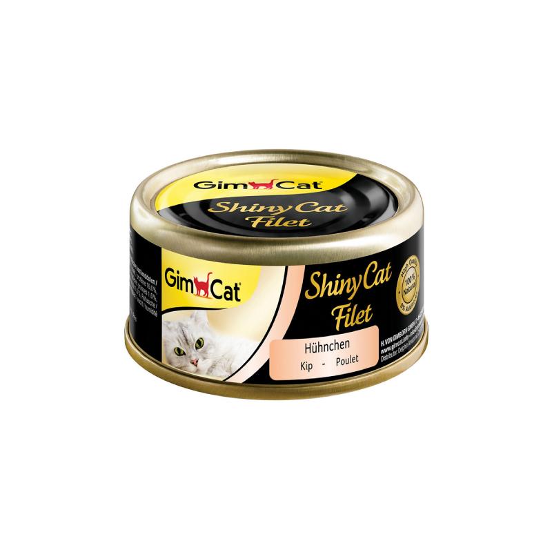 天然雞肉飯湯汁貓罐頭 70G