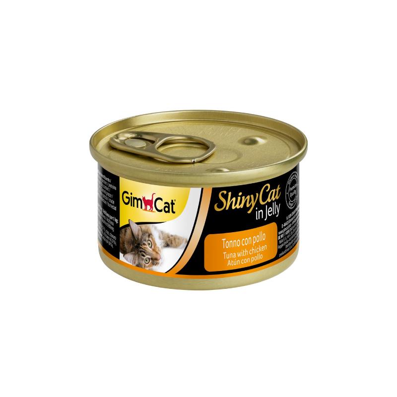 天然吞拿魚雞肉貓罐頭 70G