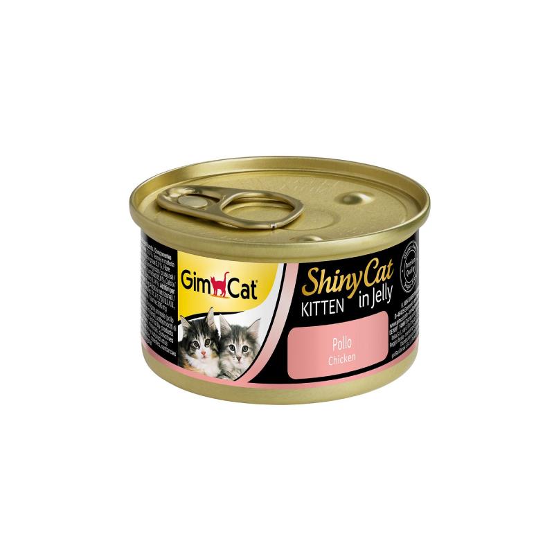 天然雞肉幼貓罐頭 70G