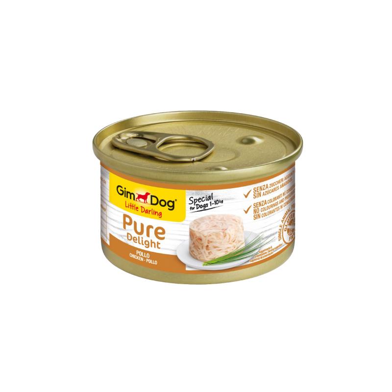 純悅小型犬配方雞肉罐頭 85g