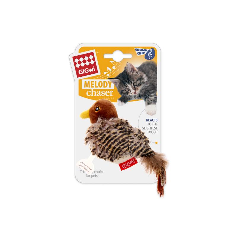 GiGWi小鳥發聲貓玩具