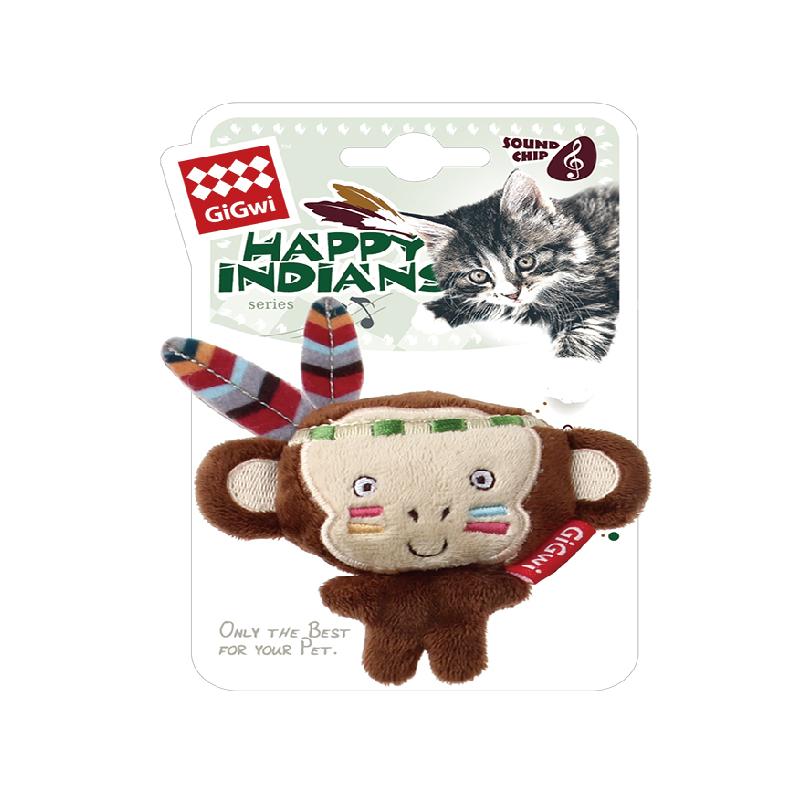 印第安音樂器猴子6*4*2CM