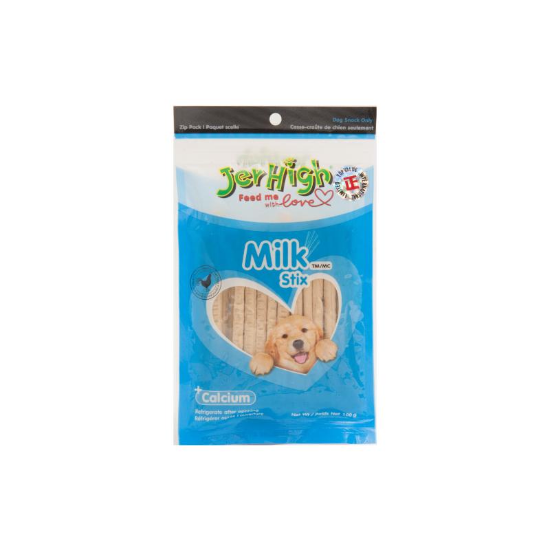*Jerhigh牛奶雞肉條狗小食100g