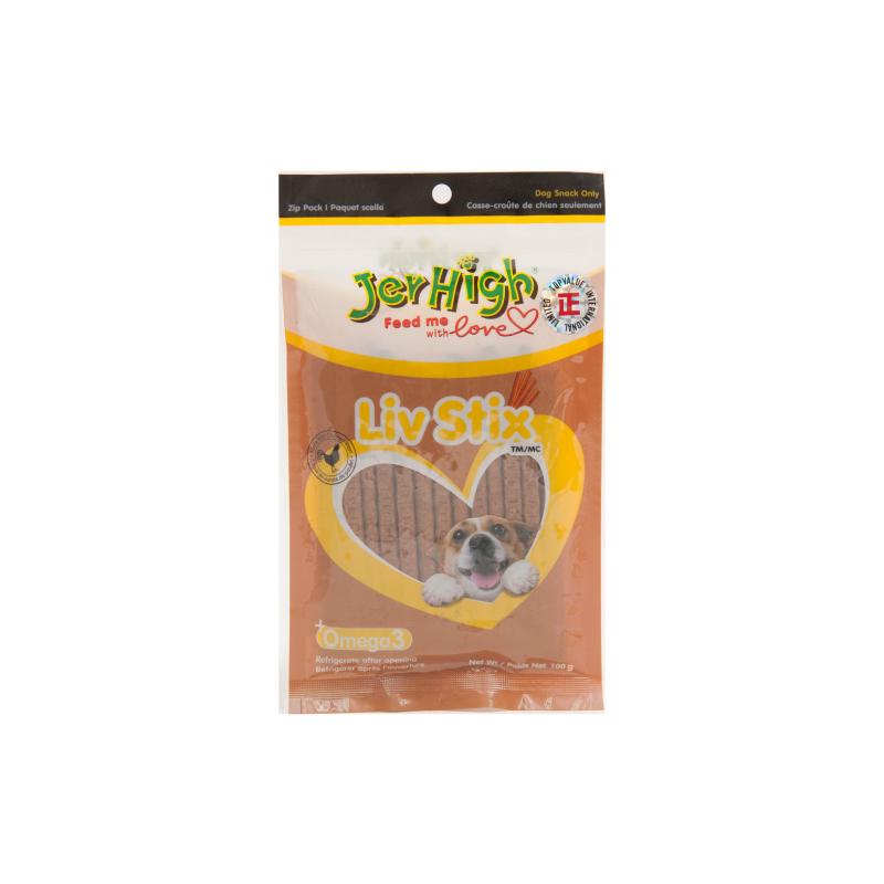 *Jerhigh雞肝條狗小食100g