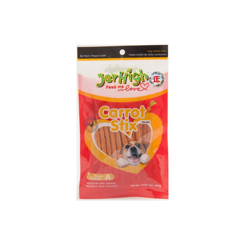 *Jerhigh蘿蔔雞肉條狗小食100g