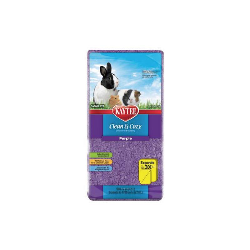小動物舒適柔軟吸水棉24.6L-紫色