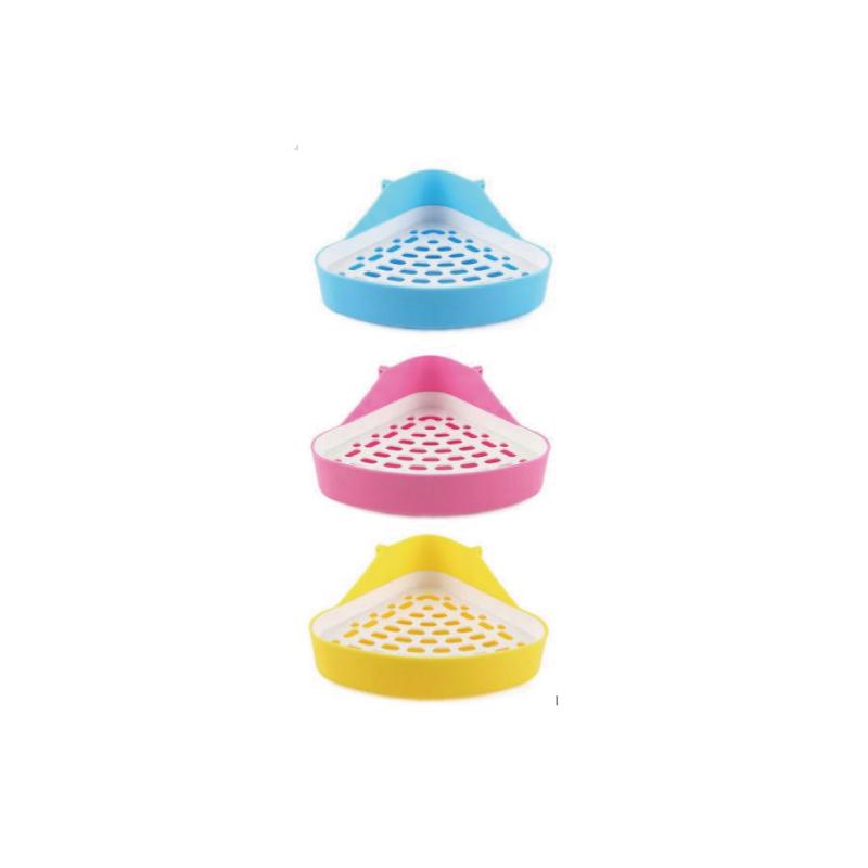 三角兔子廁所-小24x18x11cm (顏色隨機)