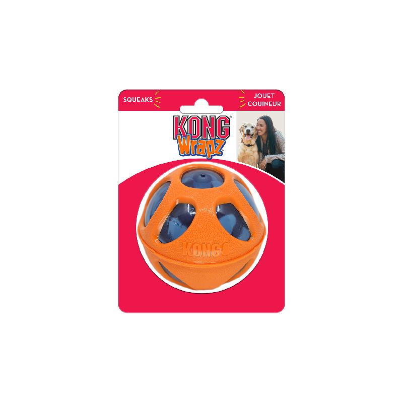 KONG 球形雙色咬咬玩具L