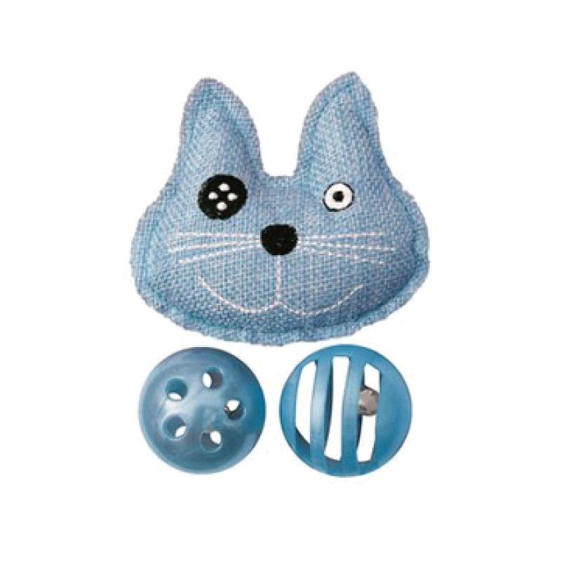 貓形狀組合玩具 6.8x3.8x1.8cm