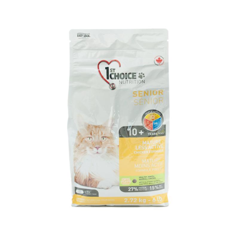 高齡貓關節保健去毛球雞肉配方糧 6LB