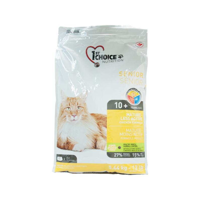 高齡貓關節保健去毛球雞肉配方糧 12LB
