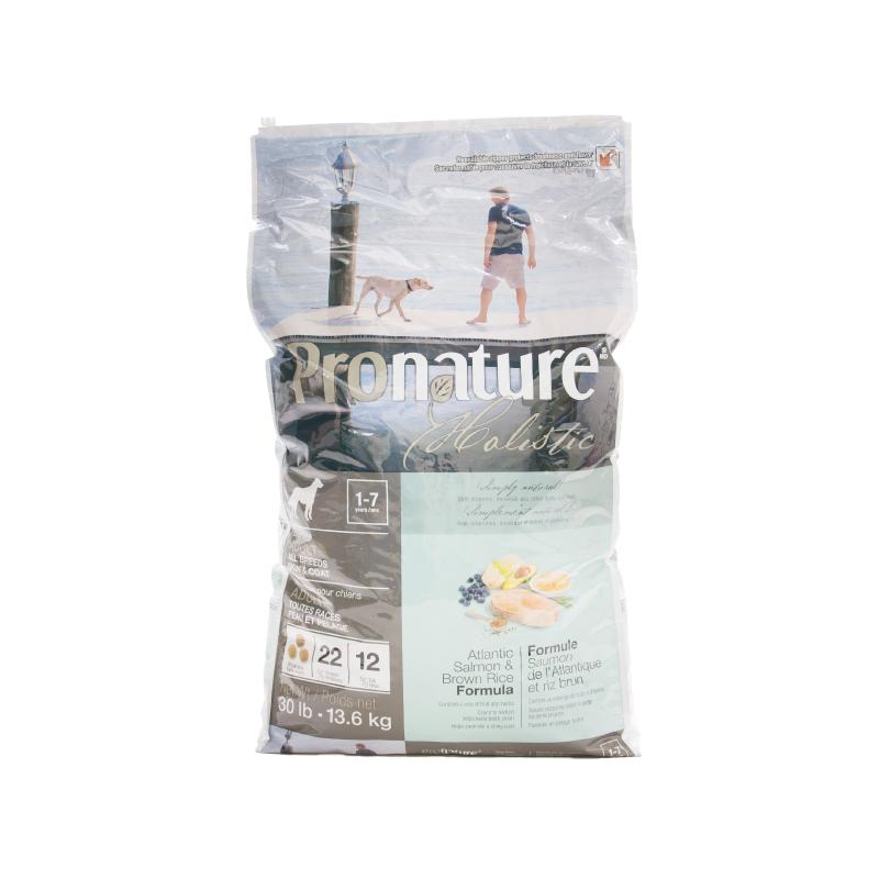 大西洋三文魚糙米全能成犬糧 30LB