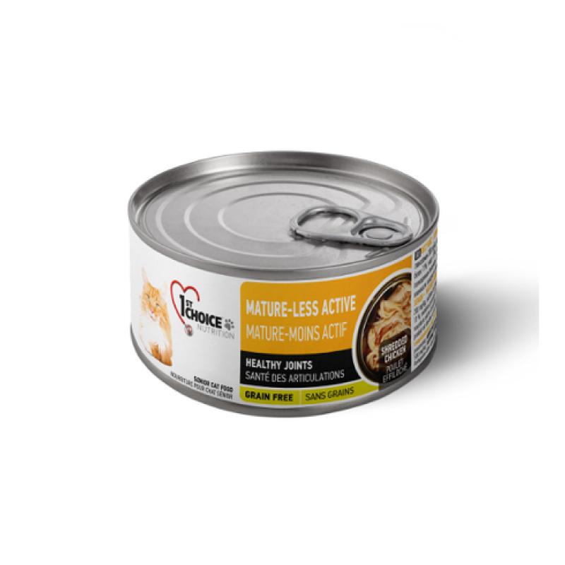 無穀物雞肉高齡貓罐頭156g