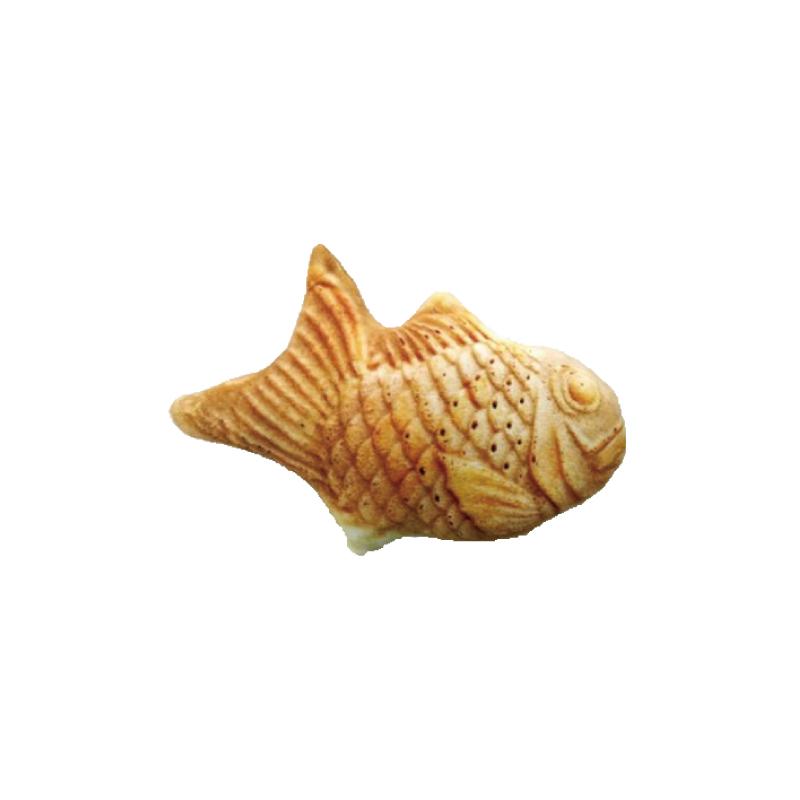 鯛魚燒貓草玩具20cm