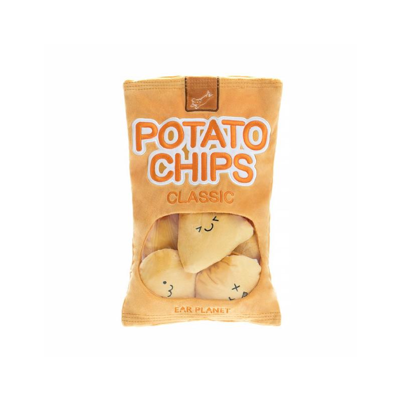薯片藏食益智發聲狗玩具36*23cm