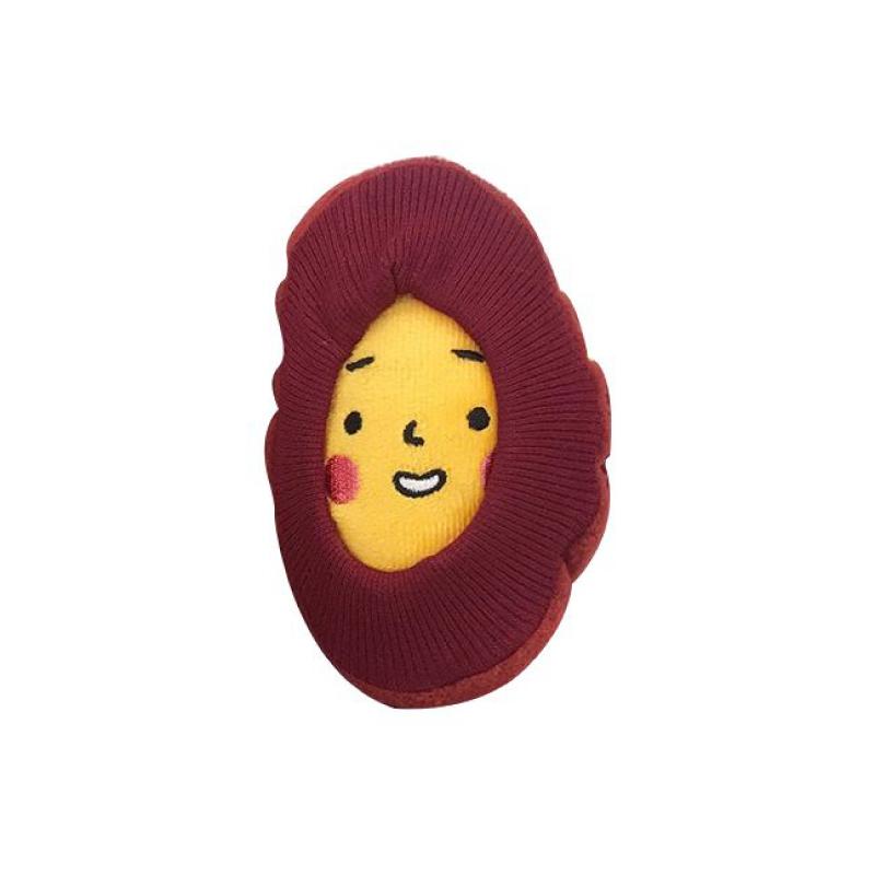 紅薯益智狗玩具7*13cm