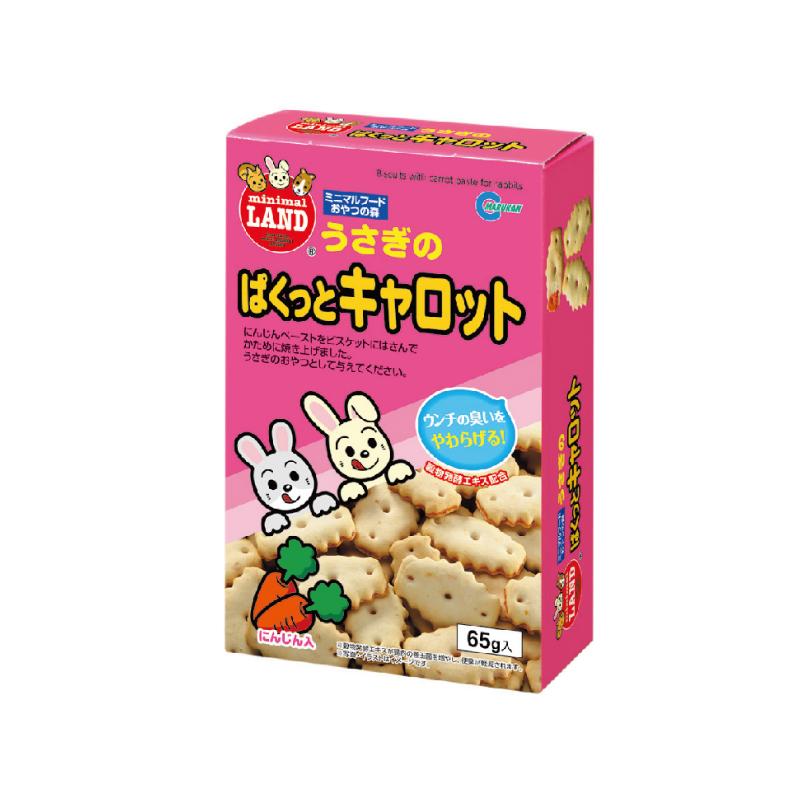 MR-558兔仔胡蘿蔔夾心餅乾65g