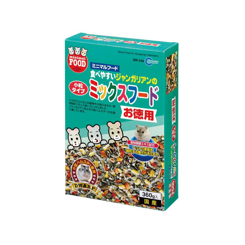 MR548小動物葵瓜子野菜小食360g