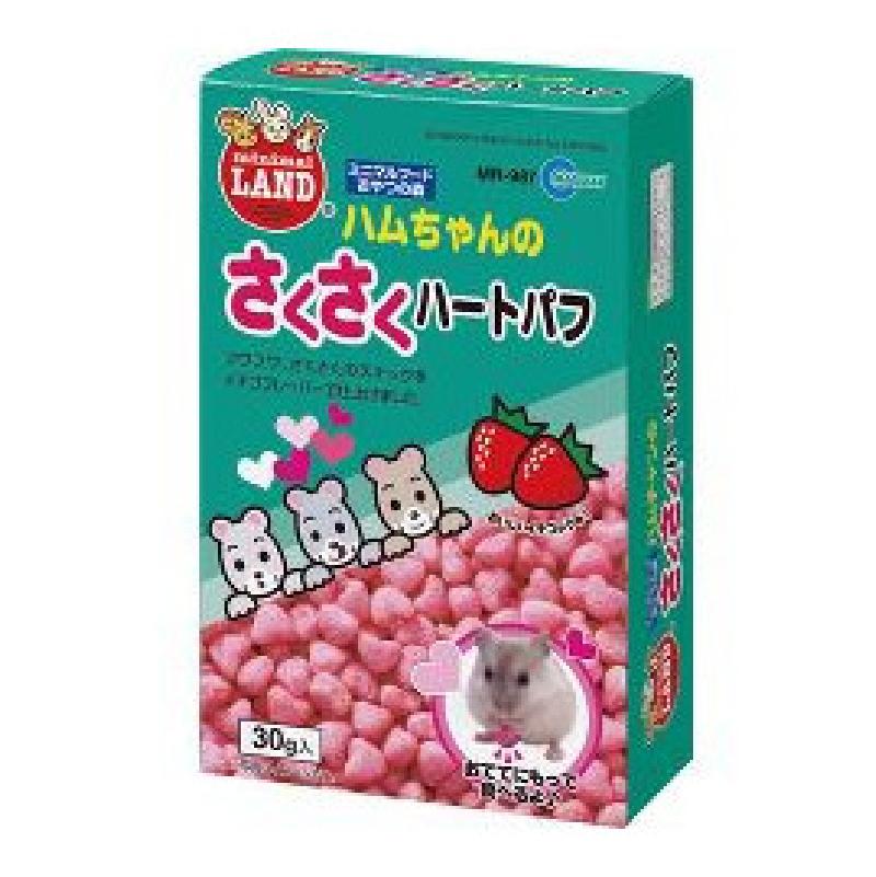 MR-987倉鼠草莓心型脆脆小食30g