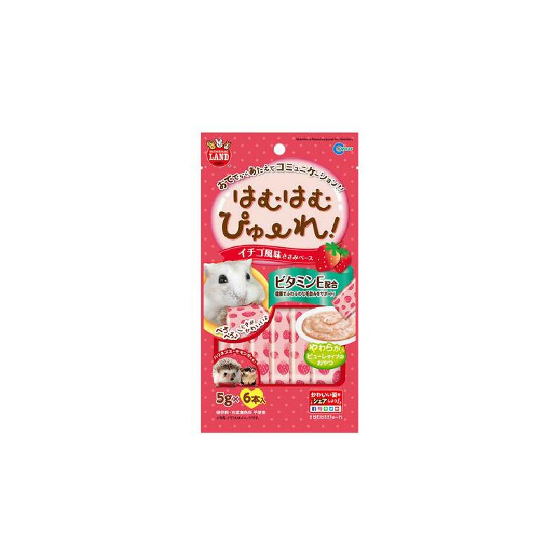 MR-845倉鼠草莓味雞肉泥5gx6pcs