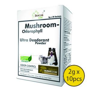 特級蘑菇葉綠素除臭排毒粉2Gx10PCS