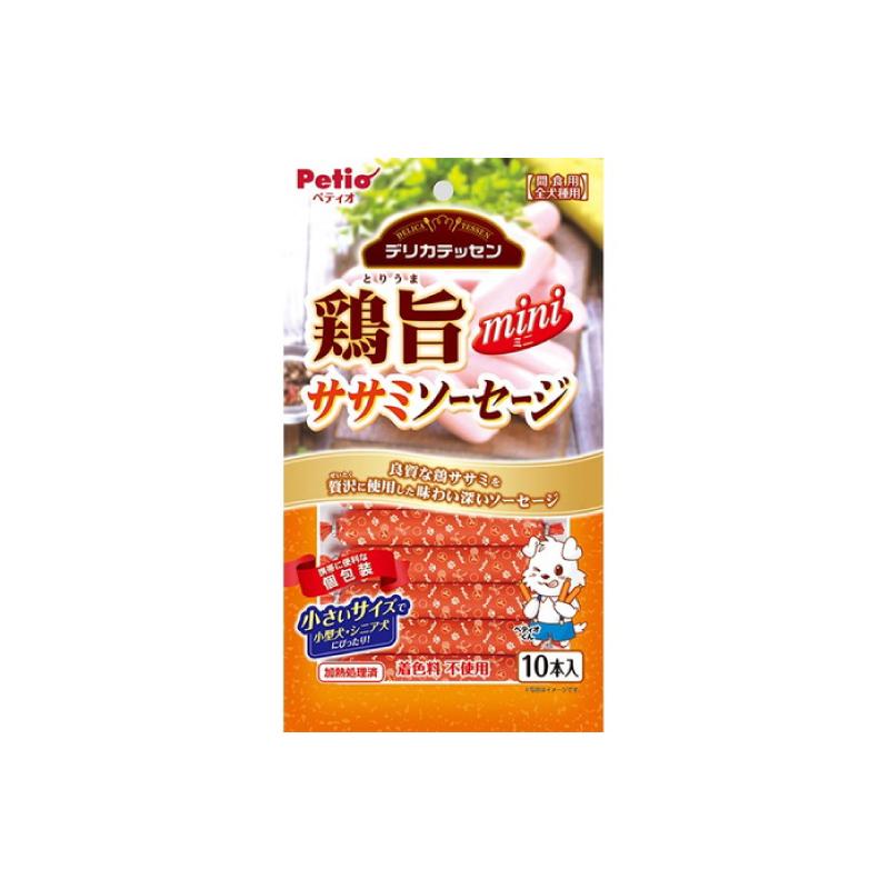 *Petio狗小食美味雞肉腸 10P