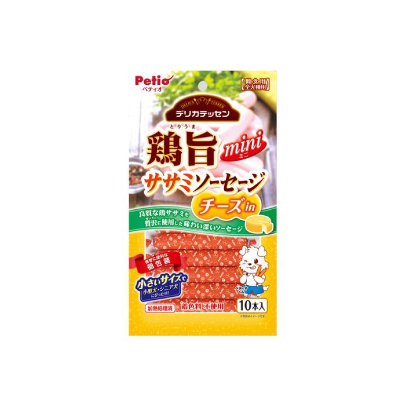 *Petio狗小食美味芝士雞肉腸10P