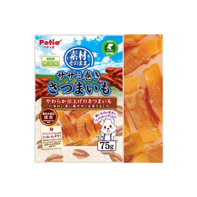*Petio狗小食雞胸肉甘薯卷 75g
