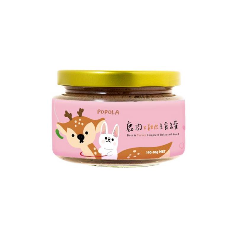 狗狗-鹿肉火雞肉主食罐140g