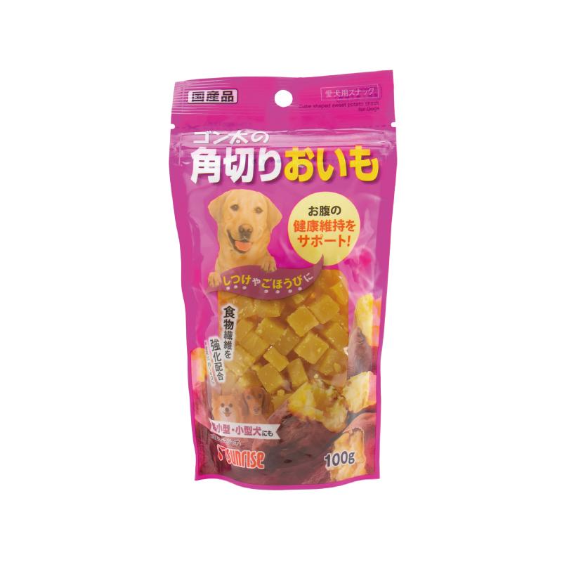 角切紅薯粒 100G
