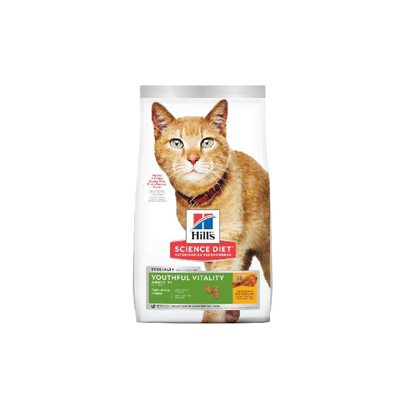 高齡貓年輕活力雞肉及米3lb