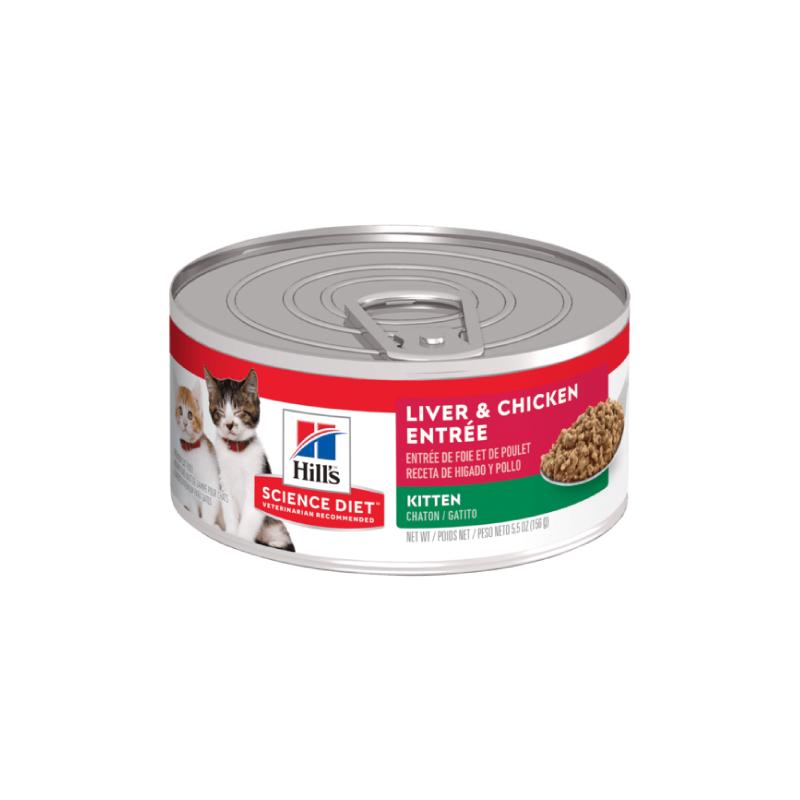 雞肉味幼貓罐頭 5.5OZ