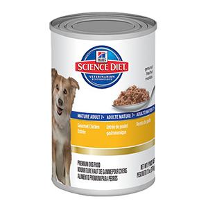 雞肉味高齡犬罐頭 13OZ